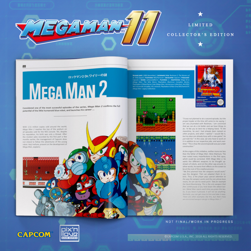 Mega Man 11 - Collector's Edition Xbox One - Pix'n Love Publishing