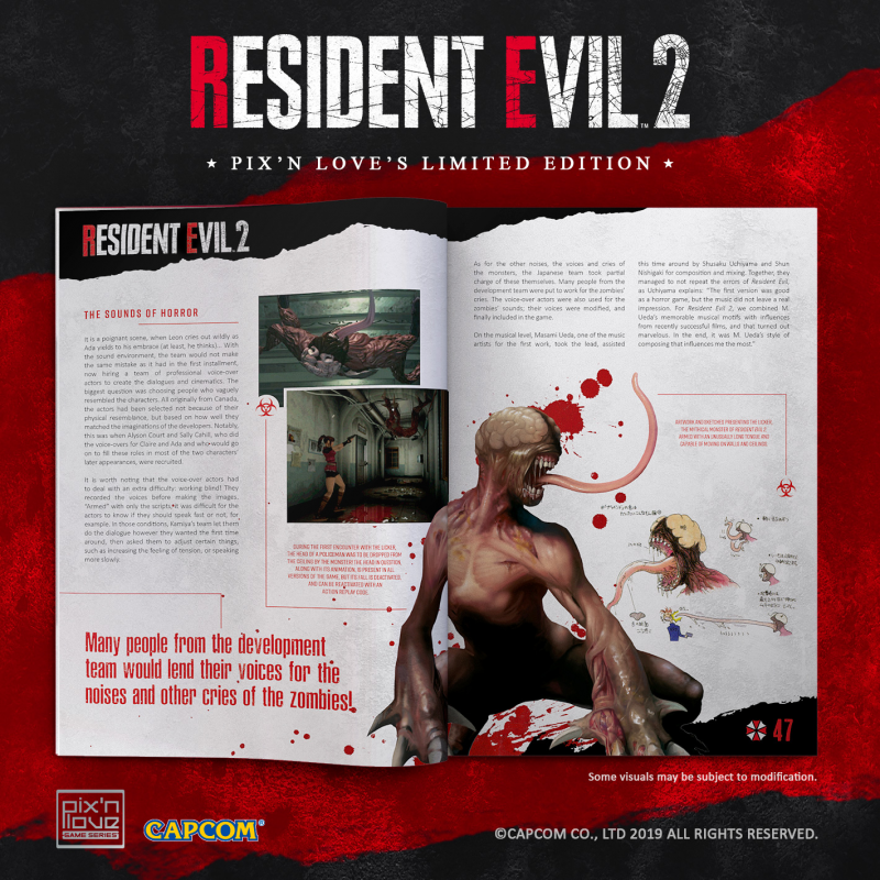 Resident Evil 2 - Limited Edition PS4 - Pix'n Love Publishing