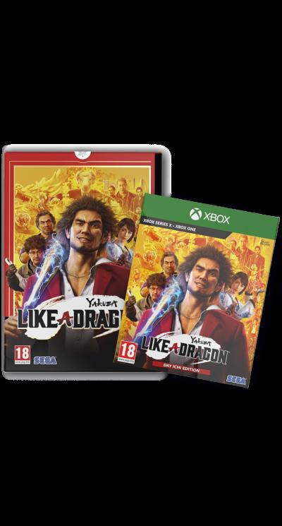 Yakuza Like A Dragon Xbox Limited Edition Pix N Love Publishing